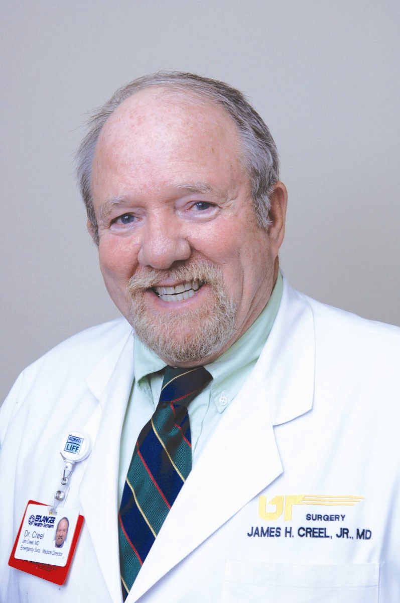 Dr. James Creel accepts permanent CMO position