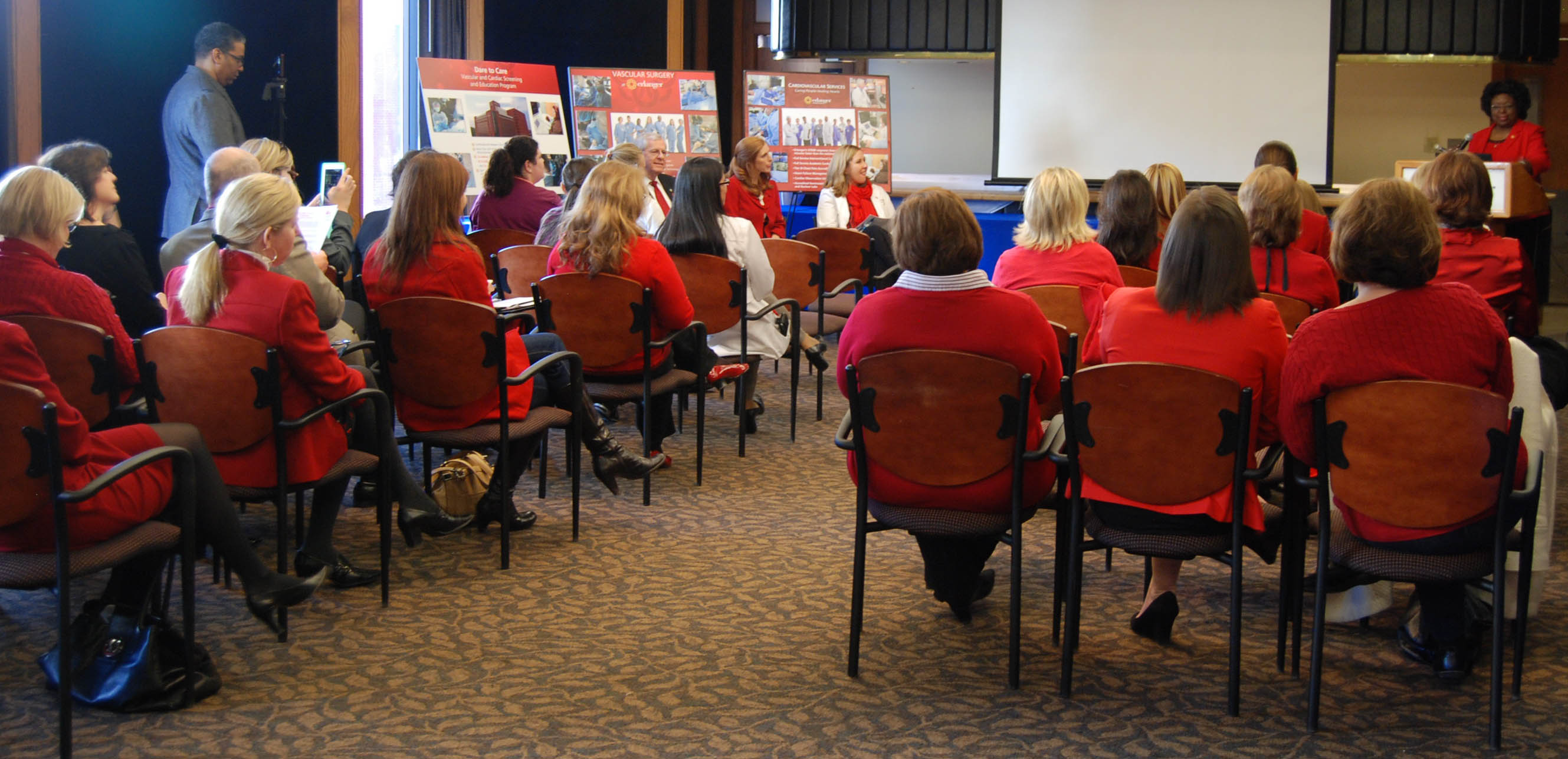 "Erlanger, American Heart Association Launch ""Go Red for Women"" Campaign"