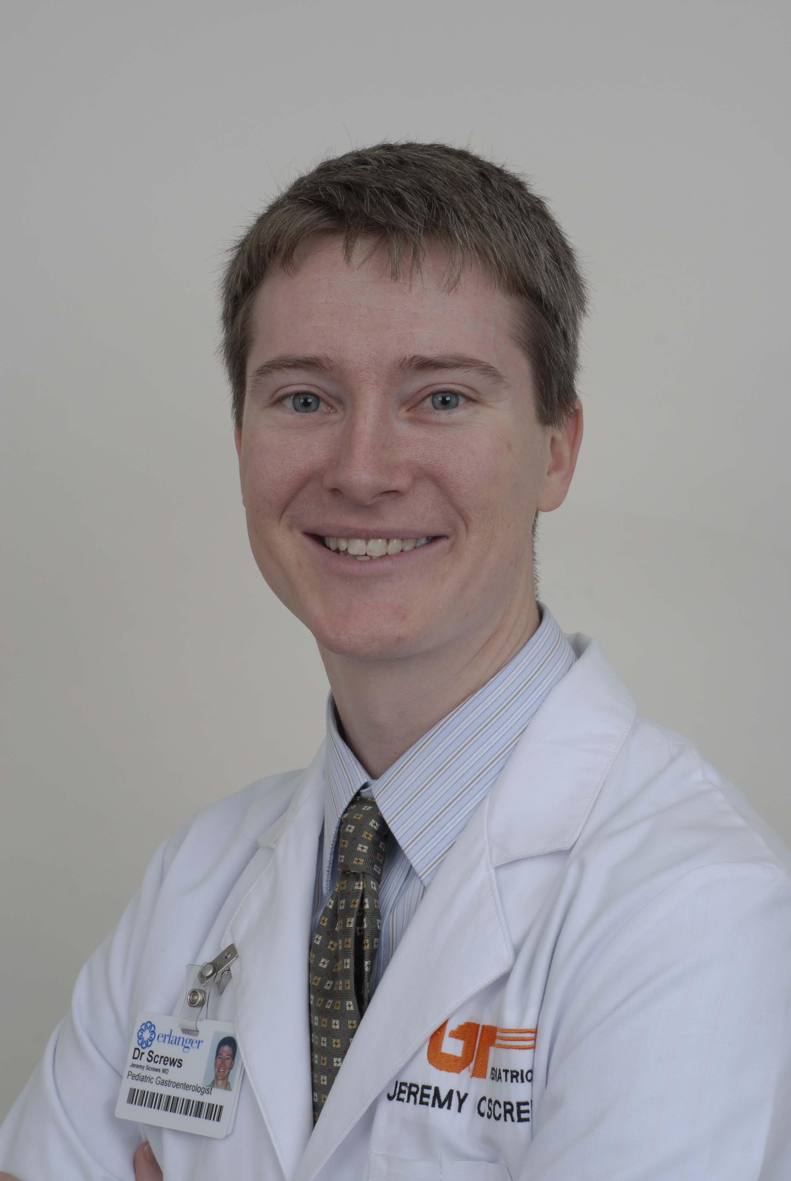 Erlanger East welcomes pediatric gastroenterologist, Dr. Jeremy Screws
