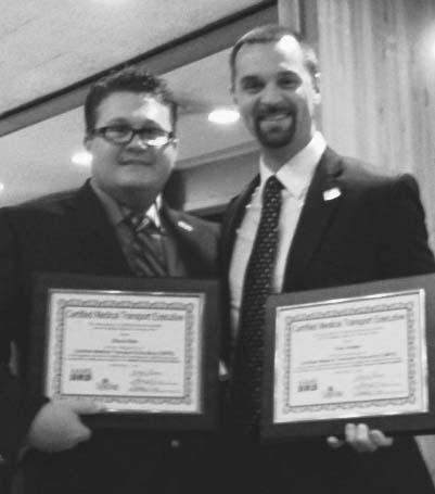 Two LIFE FORCE Flight Nurses earn executive designation