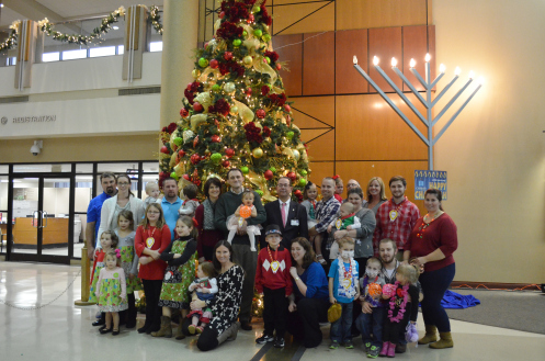 Erlanger introduces the 2015 Miracle Children during annual tree lighting event