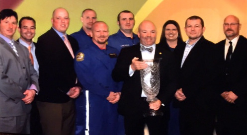 Erlanger's air medical program receives Advance Life Support Service of the Year Award
