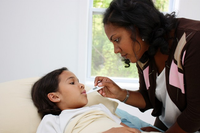 The right way to reduce your child's fever