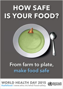 World Health Day 2015: Food safety