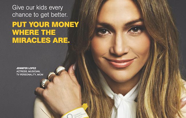 Join Jennifer Lopez in support of Children's Hospital at Erlanger