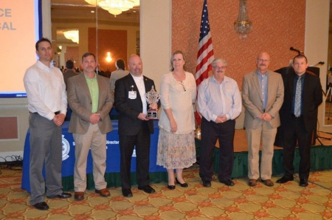 Erlanger's air medical program receives Service of the Year Award from EMS Director's Association