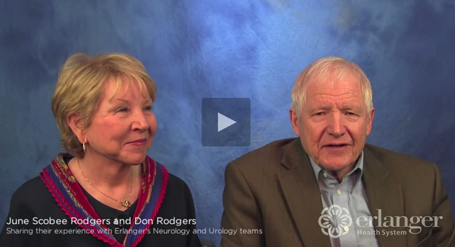 Don Rodgers and June Scobee Rodgers turn to Erlanger after both receive a life-changing diagnosis