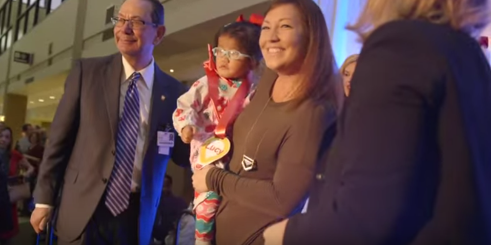 VIDEO: Kicking off the holidays at Children's Hospital at Erlanger