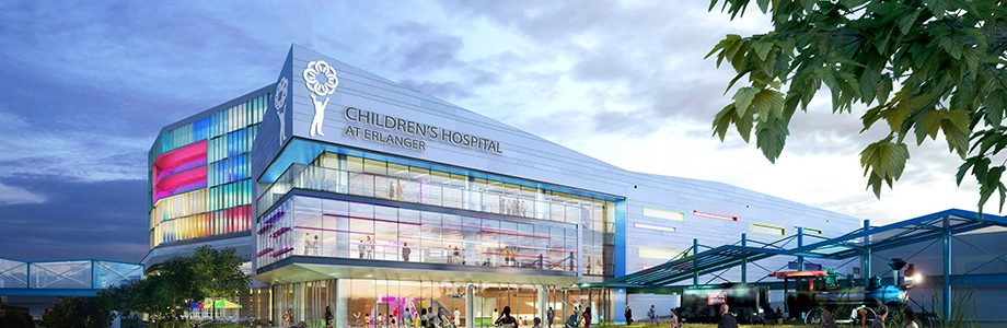 new Children's Hospital at Erlanger