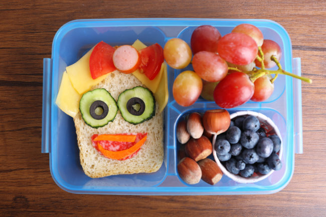 Healthy (and fun) lunchbox ideas