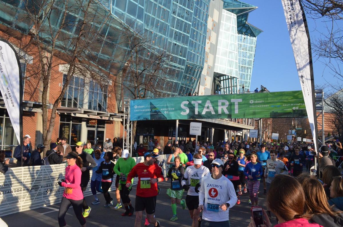 Erlanger Chattanooga Marathon 2016