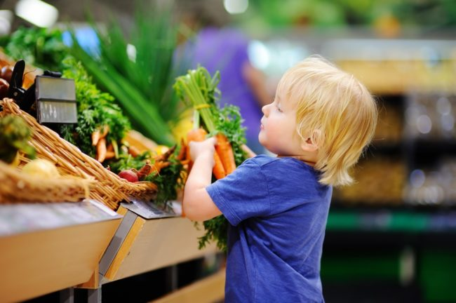 How many fruits and veggies do your kids need?
