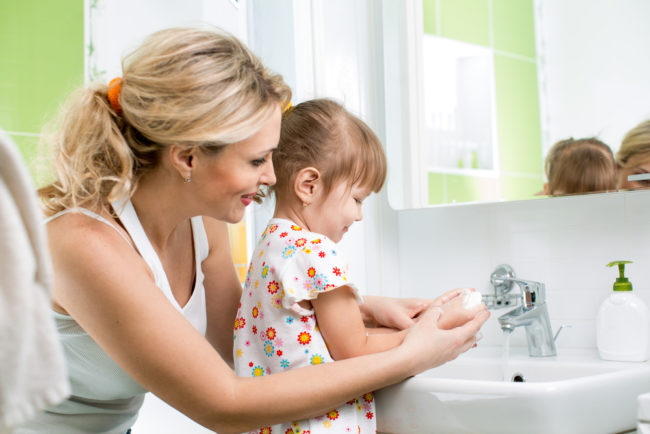 kids hand hygiene
