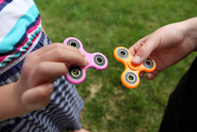 What's the deal with fidget spinners?