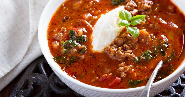 Healthy Recipe: Lasagna soup