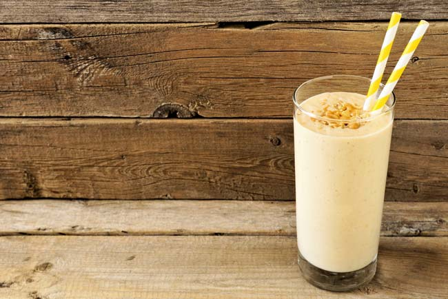 Healthy recipe: PB & J shake