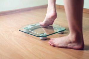 How often should you step on the scale?