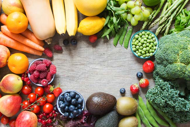 Healthy eating basics — Eat a rainbow of fruits and veggies