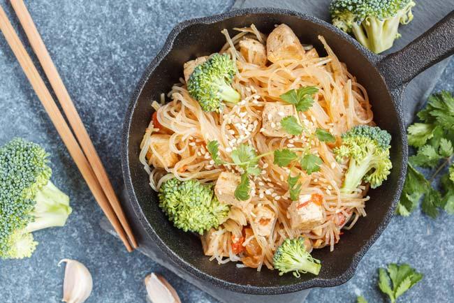 Healthy recipe: Tofu & broccoli stir-fry
