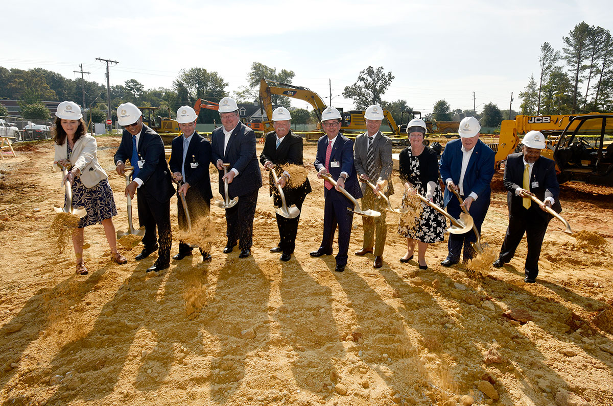 Erlanger East groundbreaking