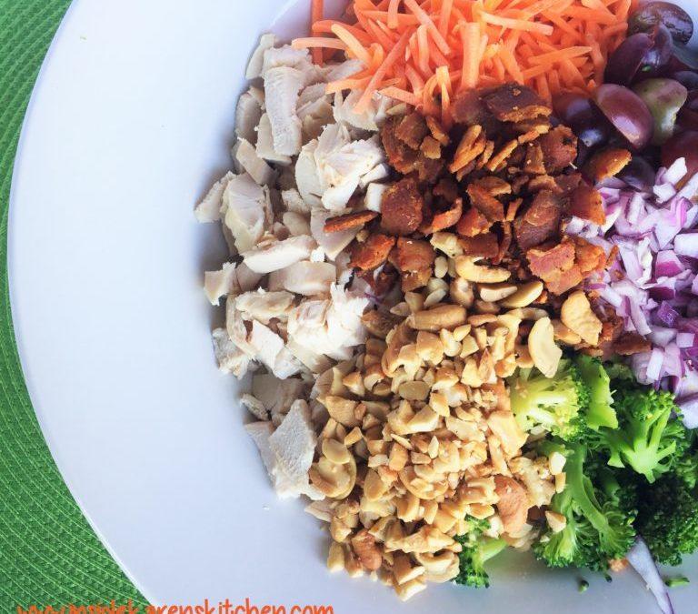 Healthy recipe: Chicken & Broccoli Salad
