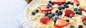 A healthy breakfast for active adults