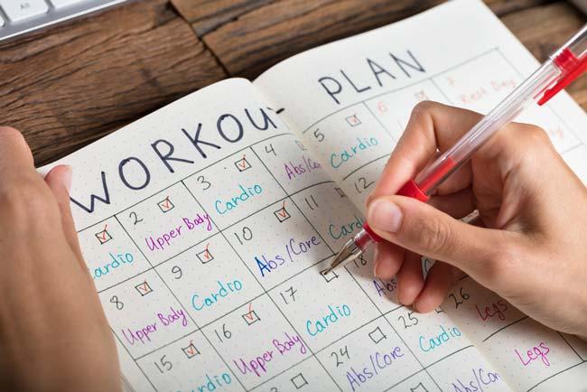 Managing exercise