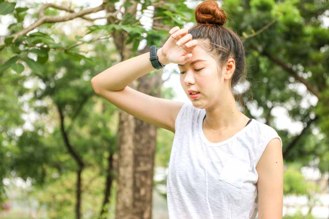 Fighting back against exercise-induced headaches