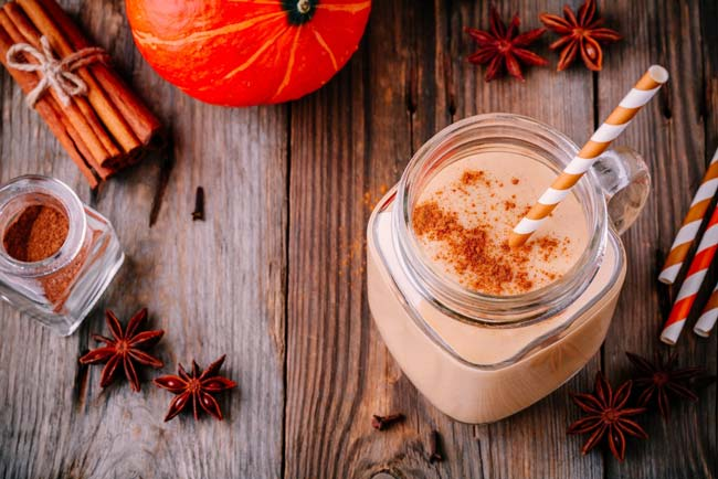 Healthy Recipe: Pumpkin Pie Shake