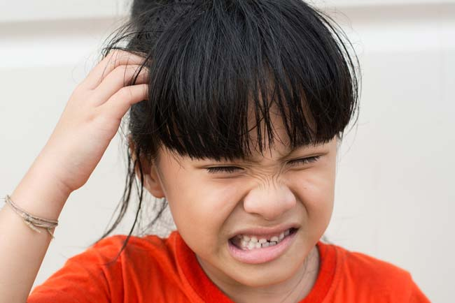Back to school — and back to head lice?