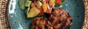 Healthy Recipe: Chicken BBQ Ranch Sliders and Tomato Salad