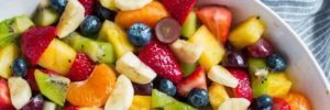 Healthy Recipe: Honey Lime Rainbow Fruit Salad