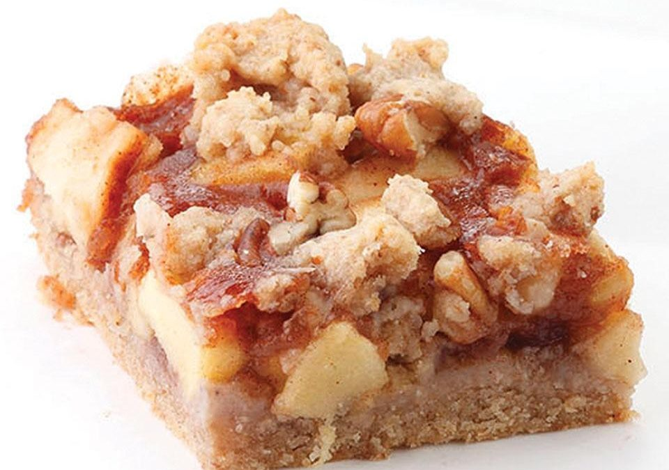 Healthy Recipe: Apple-Cinnamon Fruit Bars