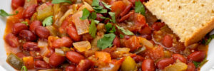 Healthy Recipe: Vegetarian chili